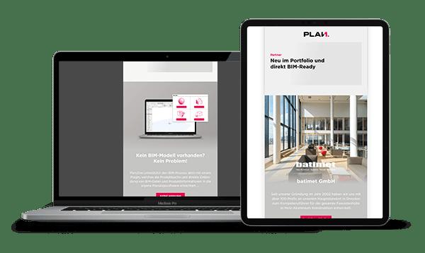 Plan.One-Newsletter