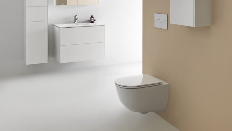 Toiletten-Wandmontage