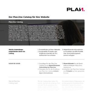 Vorschau-Plan.One-Catalog