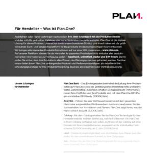 Vorschau-Plan.One-Hersteller